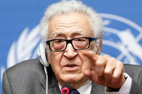 Ex-Secretário-Geral Representante da Organização das Nações Unidas e mediador internacional da ONU, Lakhdar Brahimi [Foto do arquivo]