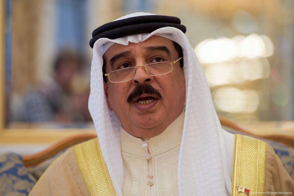 Rei do Bahrein Hamad Bin Isa Al Khalifa [foto de arquivo]