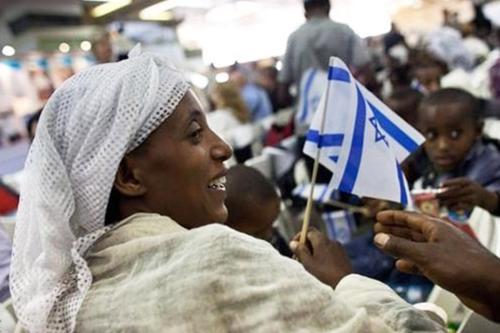 Judeus etíopes em Israel [Foto de arquivo]