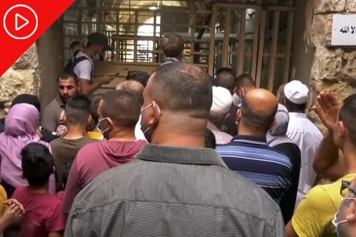 Israel impede palestinos de entrar na Mesquita Abraâmica, no aniversário do Profeta