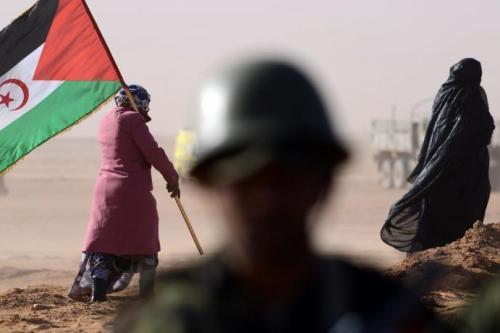 Bandeira da Frente Polisario, 21 de maio de 2018 [Facebook]