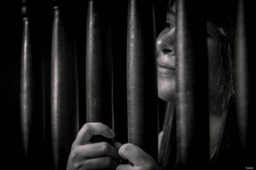 Uma mulher na prisão, 11 de abril de 2019 [Twitter]