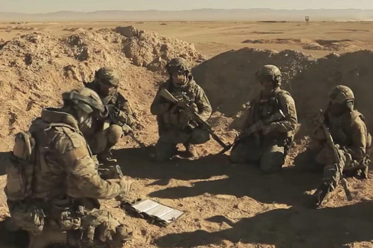 Soldados do grupo de mercenários russos Wagner [foto de arquivo]