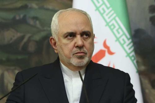 Ministro de Relações Exteriores do Irã Mohammad Javad Zarif, em Moscou, Rússia, 24 de setembro de 2020 [Ministério de Relações Exteriores da Rússia/Agência Anadolu]