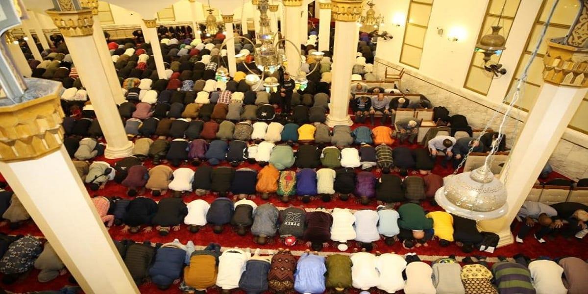 Eid al-Adha , a Festa do Sacrifício de 2019, Mesquita Brasil. [Foto Arquivo ]