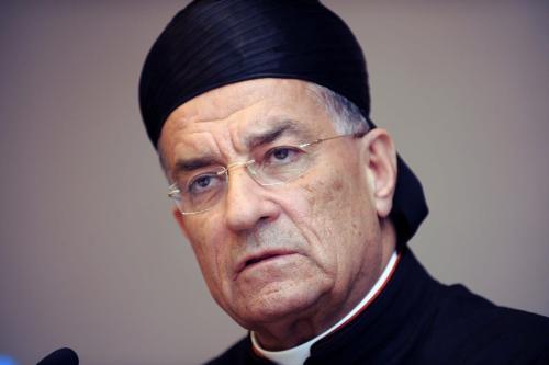 Patriarca Beshara al-Rai, maior liderança cristã maronita no Líbano, em Istambul, Turquia, 31 de março de 2011 [Bulent Kilic/AFP/Getty Images]