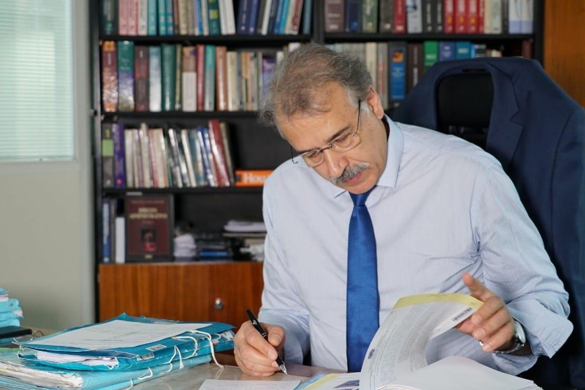 O juiz federal Ali Mazloum em São Paulo, Brasil, maio de 2019 (fonte: MEMO)