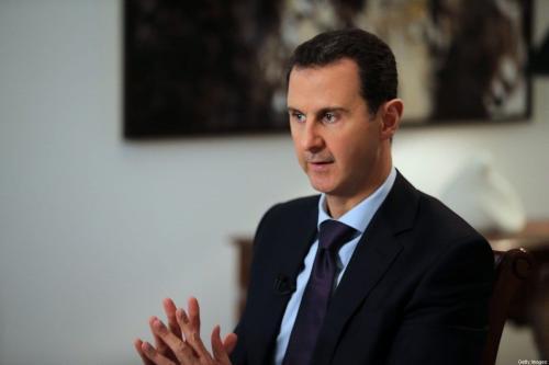 Presidente da Síria Bashar al-Assad em Damasco, 11 de fevereiro de 2016 [Joseph Eid/AFP/Getty Images]