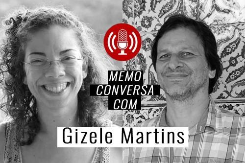 Gizele Martins e Fábio Bosco