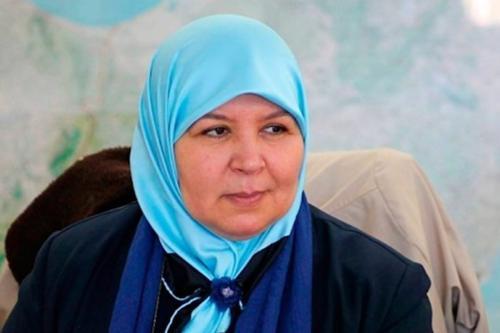 Representante do Ennahda da Tunísia, Meherzia Labidi, 22 de janeiro de 2021. [Arabi21]