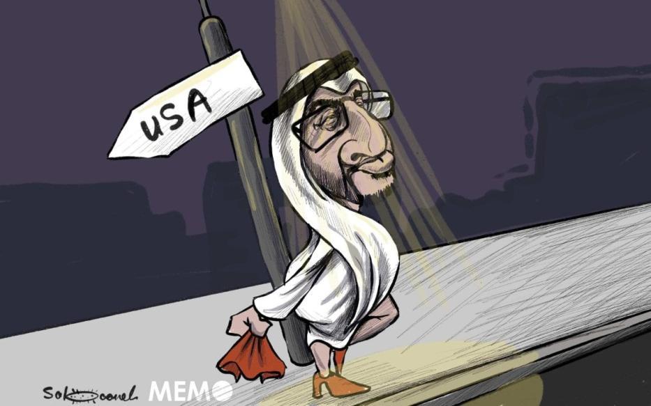O plano pérfido de normalização dos Emirados Árabes Unidos com Israel. [Sabaaneh/Monitor do Oriente Médio]