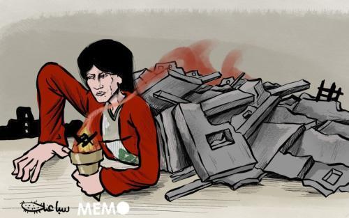 O Líbano se levantará das cinzas. [Sabaaneh/Monitor do Oriente Médio]