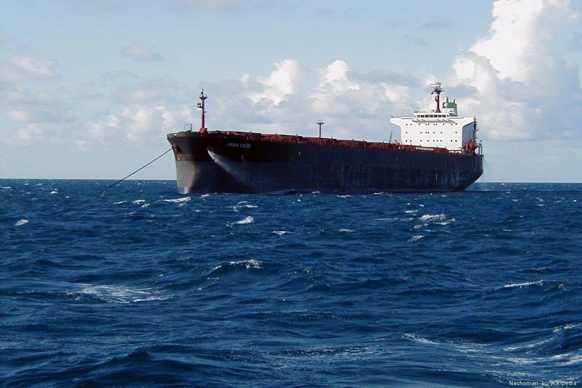 Um petroleiro iraniano, 17 de Julho de 2019 [Nachoman-au/Wikipedia]