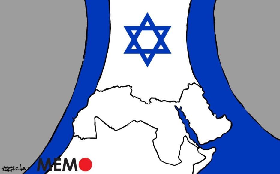 Um número crescente de países na região do Oriente Médio e Norte da África (MENA) está normalizando laços com Israel. [Sabaaneh/Monitor do Oriente Médio]