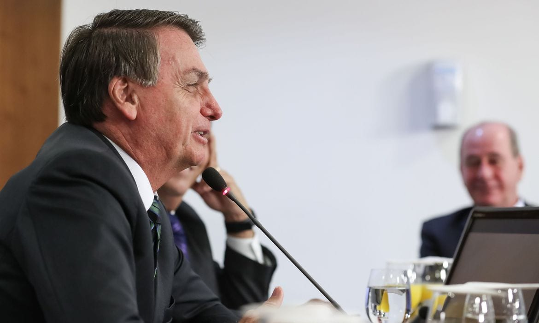 Presidente Jair Bolsonaro [Foto Marcos Corrêa]