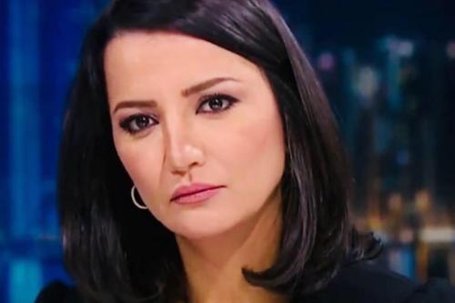Locutora da Al Jazeera Ghada Oueiss. [Ghada Oueiss/Facebook]