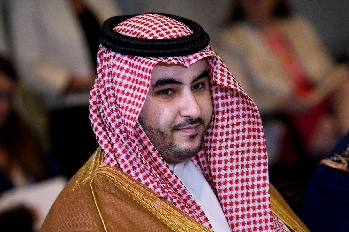 O vice-ministro da defesa da Arábia Saudita, príncipe Khalid Bin Salman, em Washington, DC, em 29 de agosto de 2019. [Brendan Smialowski/AFP/Getty Images]
