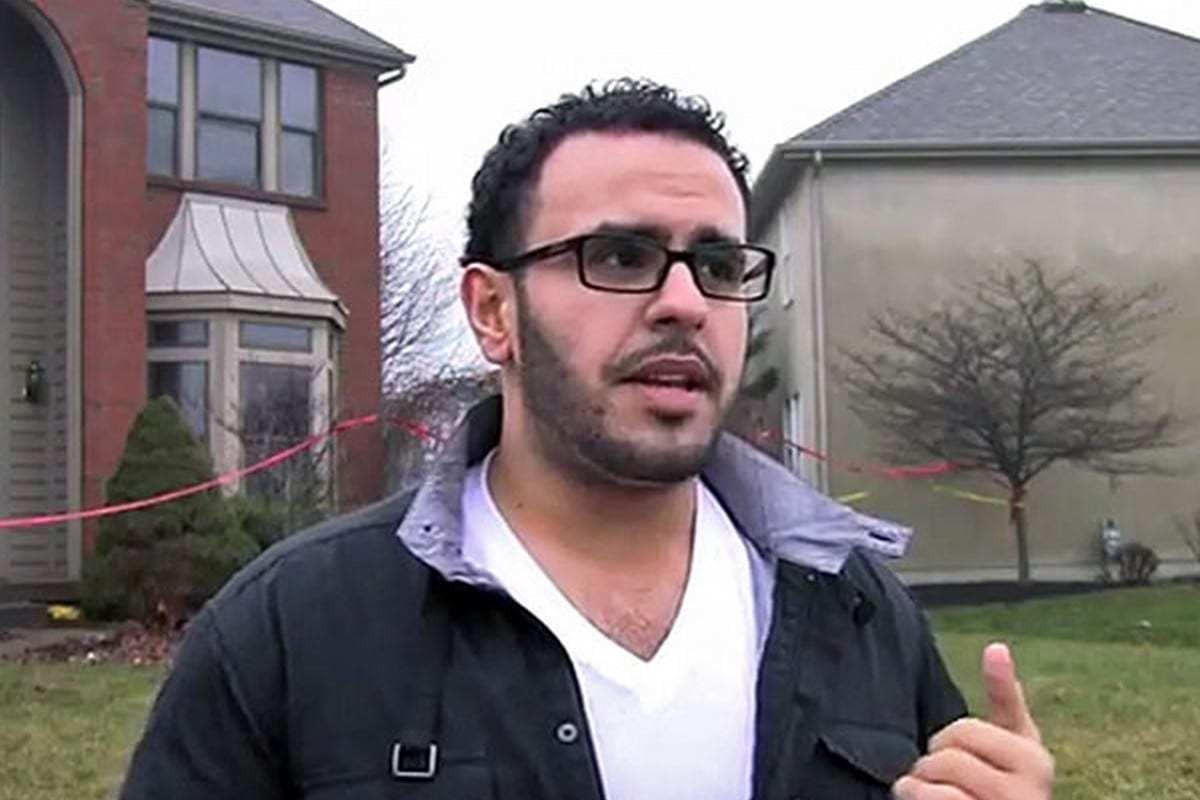 Ex-preso político Mohamed Soltan, em 15 de abril de 2016 [Monitor do Oriente Médio]
