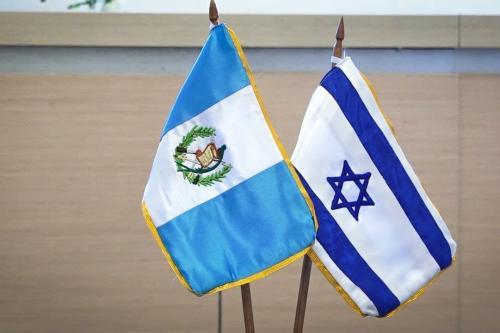 Bandeira Guatemala e Israel [Foto: Reprodução Youtube]