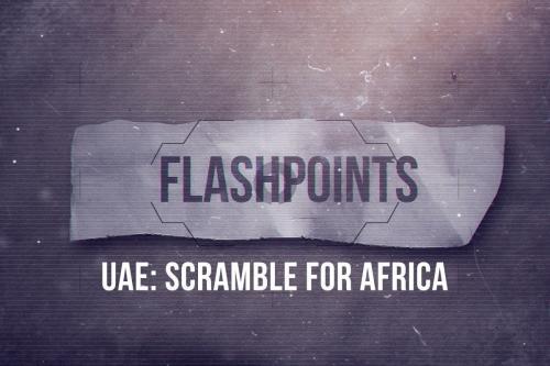 Emirados Árabes estão travando uma guerra pela influência sobre o Chifre da África
