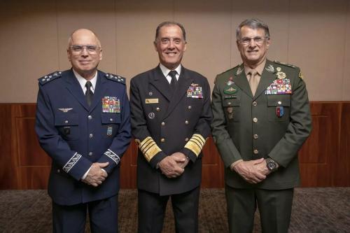 Comandantes da Aeronáutica, da Marinha e do Exército [Divulgação]