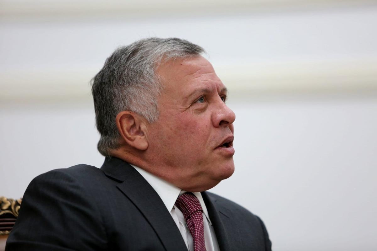 Rei Abdullah II da Jordânia em Bagdá, Iraque, 14 de janeiro de 2019 [Abah Arar/AFP/Getty]