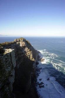 Uma vista geral de Cape Point em 8 de maio de 2010 na ponta sul da Península do Cabo, cerca de 50 km ao sul da Cidade do Cabo, África do Sul. [Gianluigi Guercia/AFP via Getty Images]