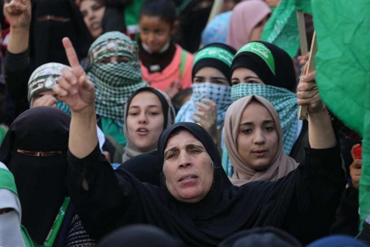 Hamas cria comitê de eleições em Gaza, 16 de dezembro de 2019. [Mohammed Asad/Monitor do Oriente Médio]