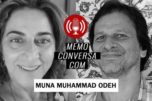 MEMO conversa Muna Muhammad Odeh