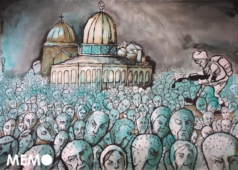 Colonos extremistas de Israel continuam a incitar os palestinos em Jerusalém [Sabaaneh/Monitor do Oriente Médio]