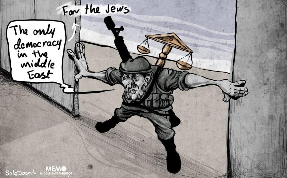 Israel aprovou a Lei do Estado-nação tornando-se oficialmente um Estado do Apartheid [Sabaaneh/Monitor do Oriente Médio]