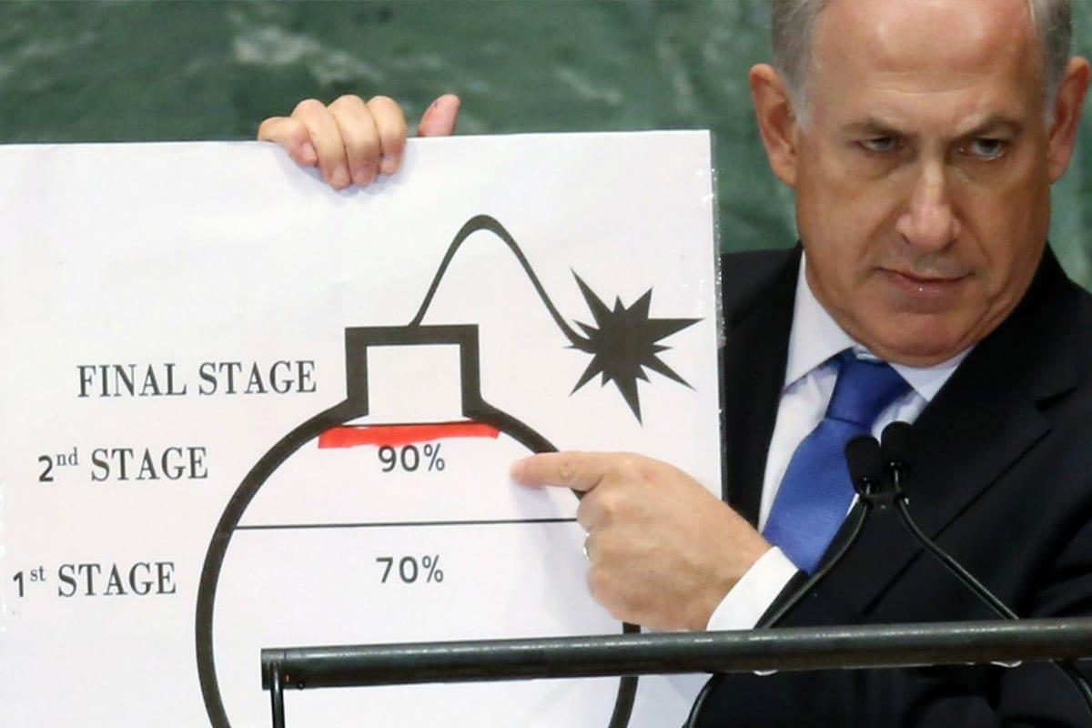 O primeiro-ministro israelense Netanyahu pede à ONU para traçar uma 'linha vermelha' sobre os planos nucleares do Irã [Twitter]