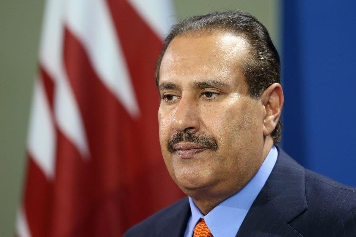 Ex-primeiro-ministro do Catar, Hamad bin Jassim Al Thani [Sean Gallup/Getty Images]