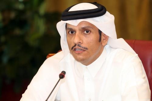 Ministro de Relações Exteriores do Catar Mohammed bin Abdulrahman Bin Jassim Al-Thani, 8 de junho de 2017 [Mohamed Farag/Agência Anadolu]
