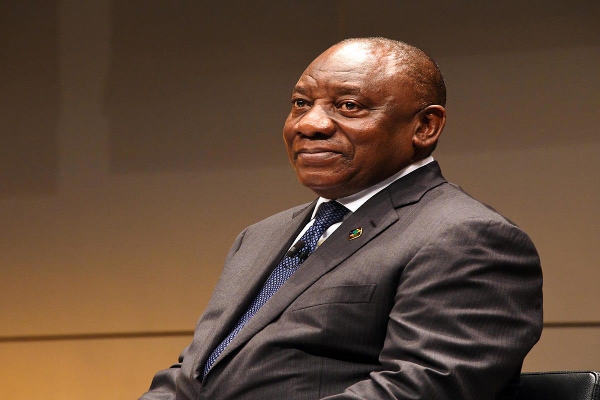 Presidente Cyril Ramaphosa participa da África do Sul [GovernmentZA/ Flicker]