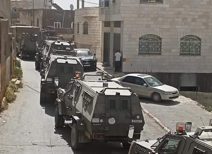 Exército de Israel invade aldeia de Aqraba, perto de Nablus, Cisjordânia ocupada [Centro de Mídia Internacional para o Oriente Médio]