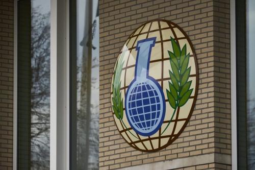 Organização para a Proibição de Armas Químicas, com sede em Haia [Pierre Crom/Getty Images]