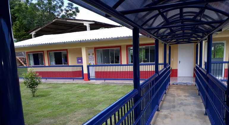Escola Infantil Pró-Infância Aquarela [Divulgação/Prefeitura de Saudades]