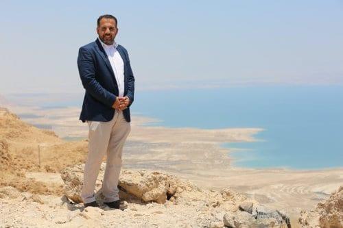 Jornalista palestino Alaa Al-Rimawi [Maymouna Afana]