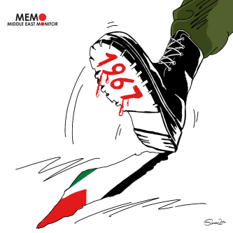 O ocupação israelense de 1967 sobre toda a Palestina [Sarwar Ahmed/Monitor do Oriente Médio]