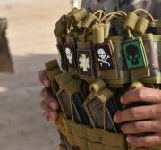 Bomba tem como alvo o comboio da coalizão liderado pelos EUA a oeste do Iraque
