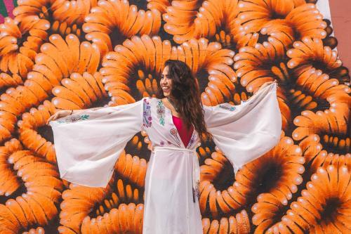 Cantora palestina Oula Al-Saghir [Divulgação/Facebook]