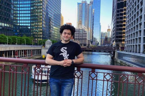 Aly Hussin Mahdy, ativista egípcio radicado em Chicago, Estados Unidos, 23 de junho de 2021