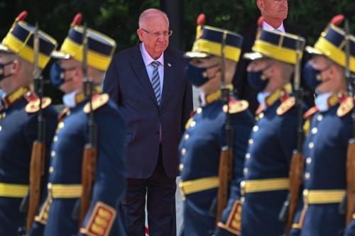 Presidente de Israel Reuven Rivlin, 8 de junho de 2021 [Daniel Mihailescu/AFP via Getty Images]