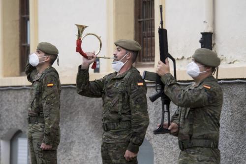 Membros do exército espanhol em 27 de maio de 2021 [Carlos Gil Andreu/ Getty Images]