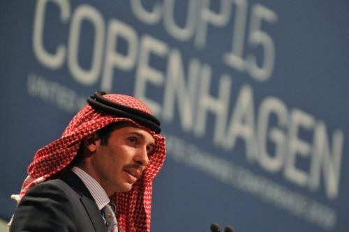 Hamzah bin Hussein, ex-príncipe herdeiro da Jordânia, em Copenhagen, Dinamarca, 17 de dezembro de 2009 [Attila Kisbenedek/AFP via Getty Images]