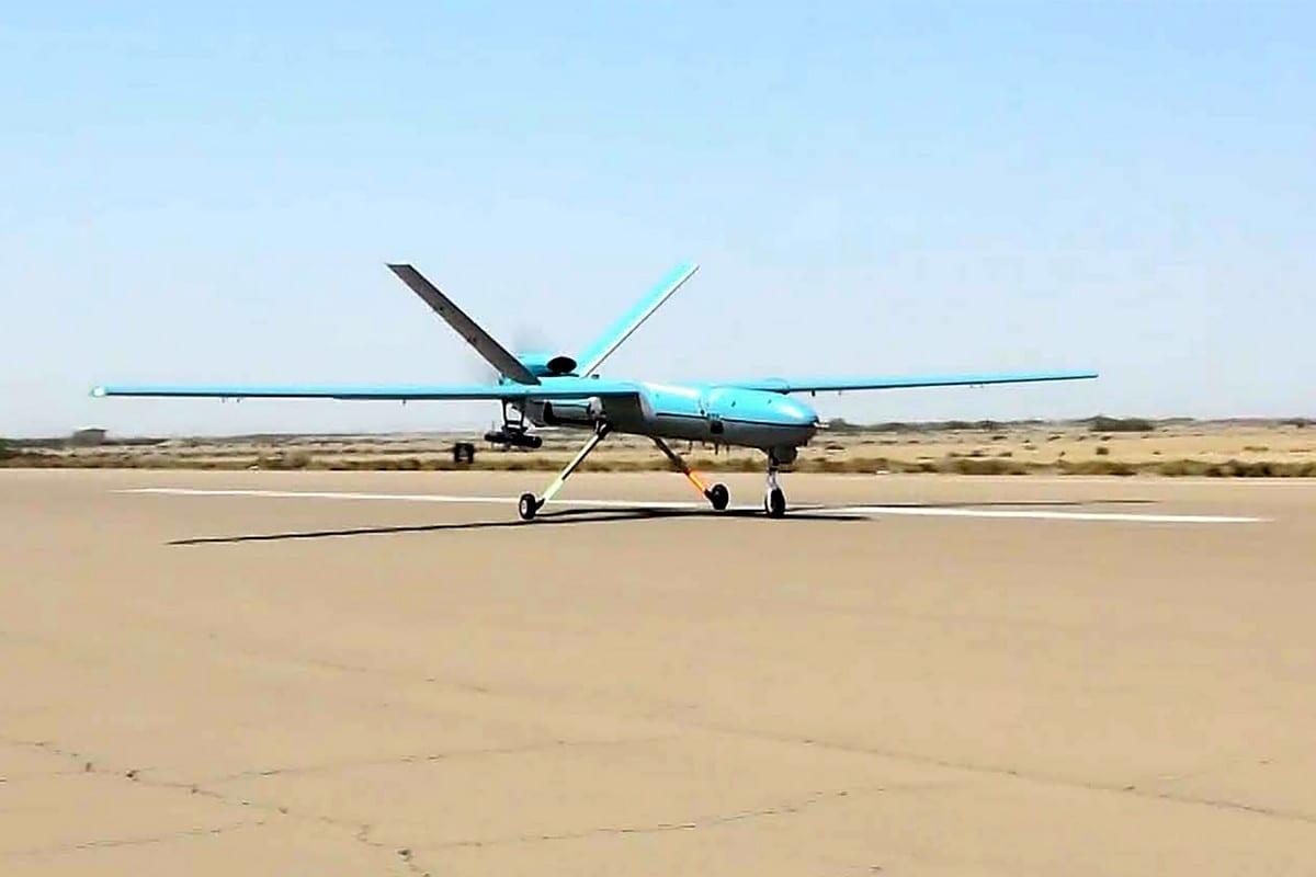 Drone iraniano, 11 de setembro de 2020 [Exército do Irã/AFP/Getty Images]