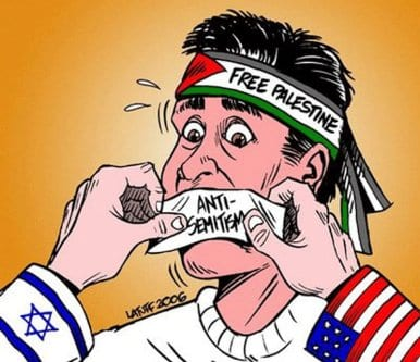Críticas a Israel são difamadas como antissemitismo [Carlos Latuff/Twitter]