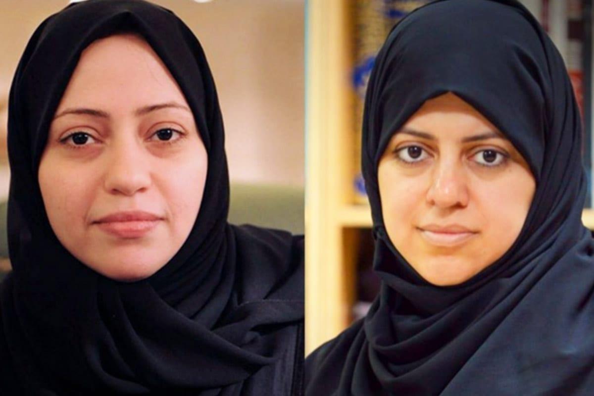 Samar Badawi e Nassima al-Sadah, ativistas sauditas pelos direitos das mulheres [Twitter]