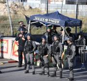 Palestinos participam de manifestação contra assentamentos e despejos em Jerusalém